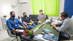 Prefeito Dalmy recebeu visita gerente BB que garantiu caixa eletrônicos