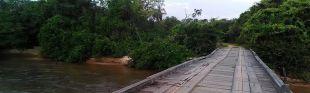 Ponte de concreto será construída sobre o Rio Jauru entre os municípios de Alcinópolis e Figueirão