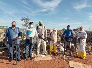 A Prefeitura deu inicio a campanha para controle de infestação de moscas no município.