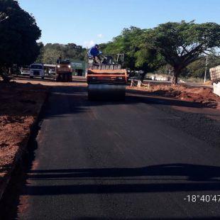Com mais asfalto e com mais infraestrutura, Figueirão vai se desenvolvendo.