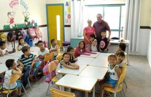 Em Alcinópolis, prefeito visita escolas