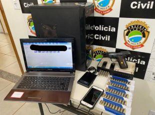 Paraiso das Aguas : PC prende homem que filmava colegas semi nuas em banheiro publico