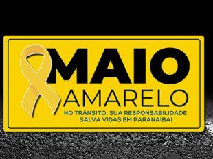 Prefeitura de Paranaíba lança movimento Maio Amarelo