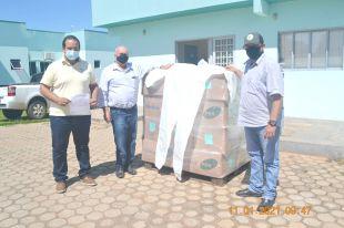 JBS doa equipamentos de EPIs para o Hospital Municipal.