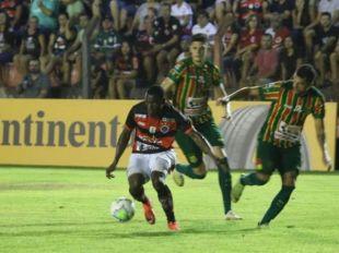 Águia Negra vence o Sampaio Corrêa por 2 a 1 e ganha classificação inédita