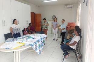 Cras Cerrado iniciou oficina de artesanato: ponto livre e vagonite decorativo