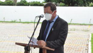 Prefeito Dalmy tomou posse e ja anunciou emenda de R$ 500 mil para patrulha rural