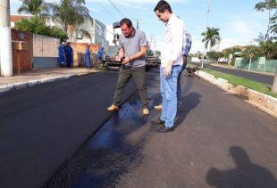Convênios para pavimentação devem contemplar 85% do município de Alcinópolis