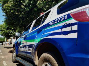 Homem tenta furto em propriedade rural de Paranaíba e acaba preso pela Polícia Militar