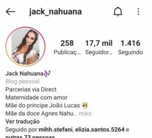 Paraisense Jack Nahuana conquistou mais de 8 milhões de views em publicação no Instagram