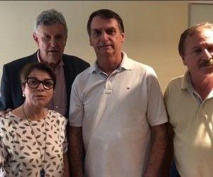 Em vídeo, Bolsonaro agradece apoio de Azambuja no segundo turno