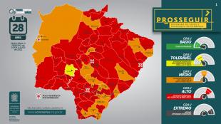 Campo Grande , Alcinópolis e outras 56 cidades devem seguir toque de recolher das 21h às 5h a partir de hoje .