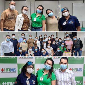 Parceria entre Município de Figueirão e Hospital Regional realiza capacitação os profissionais de saúde do Hospital Municipal.